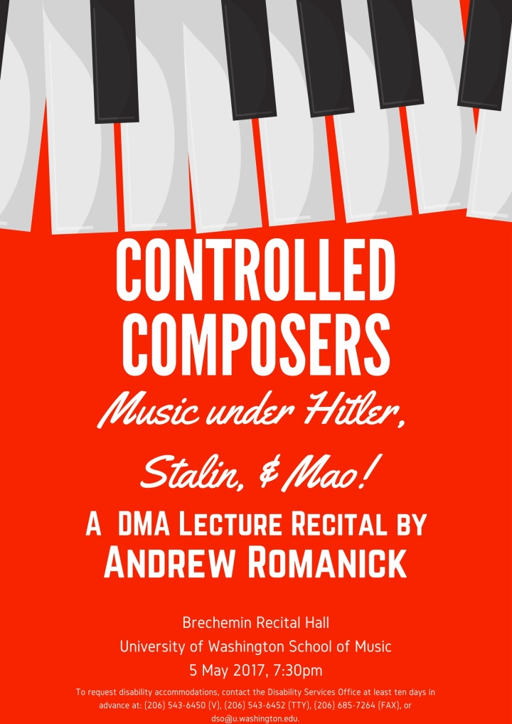 Controlled Composers